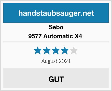 Sebo 9577 Automatic X4  Test