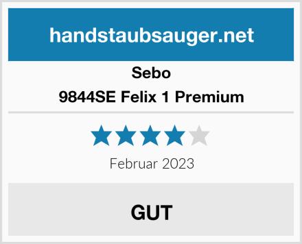 Sebo 9844SE Felix 1 Premium  Test