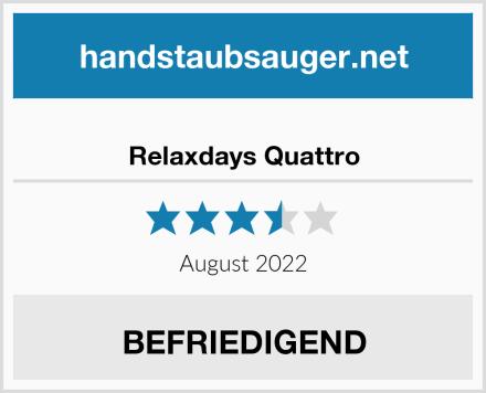 Relaxdays Quattro Test