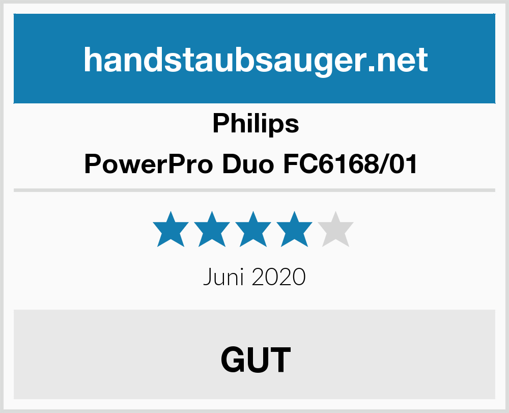Philips Power Pro Duo FC616801 im Test