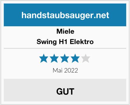 Miele Swing H1 Elektro Test