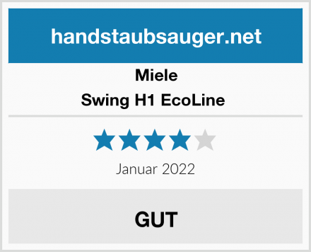 Miele Swing H1 EcoLine  Test