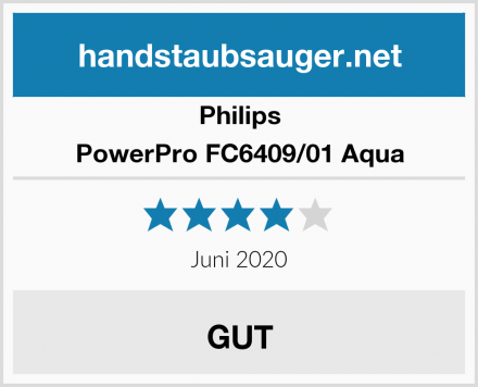 Philips PowerPro FC6409/01 Aqua Test