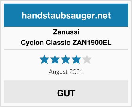 Zanussi Cyclon Classic ZAN1900EL Test