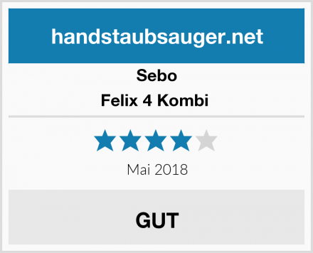 Sebo Felix 4 Kombi  Test