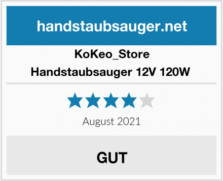 KoKeo_Store Handstaubsauger 12V 120W  Test