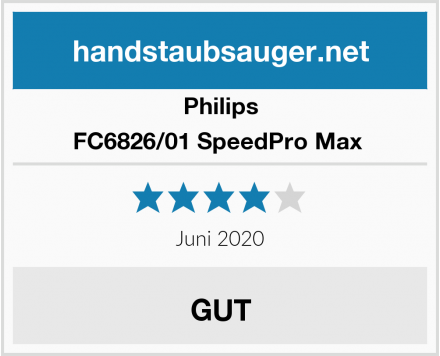 Philips FC6826/01 SpeedPro Max  Test