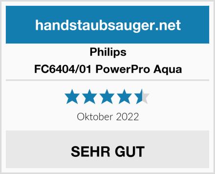 Philips FC6404/01 PowerPro Aqua Test