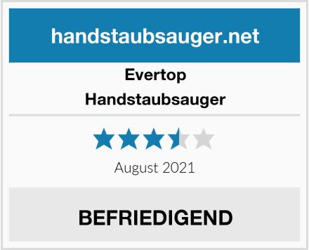 Evertop Handstaubsauger Test