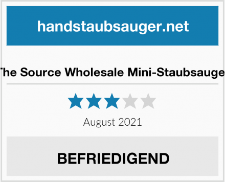 The Source Wholesale Mini-Staubsauger Test