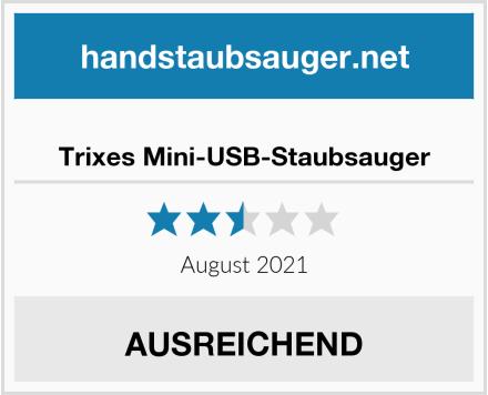 Trixes Mini-USB-Staubsauger Test