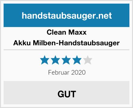 Clean Maxx Akku Milben-Handstaubsauger Test