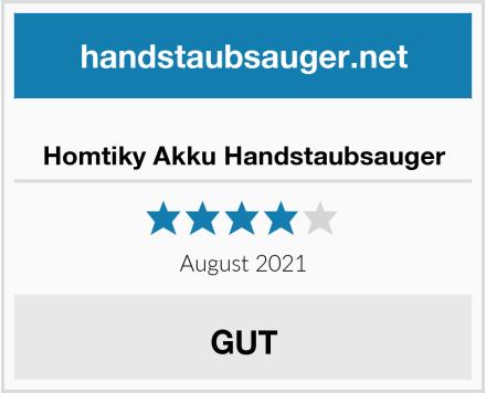 Homtiky Akku Handstaubsauger Test