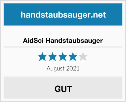 AidSci Handstaubsauger Test