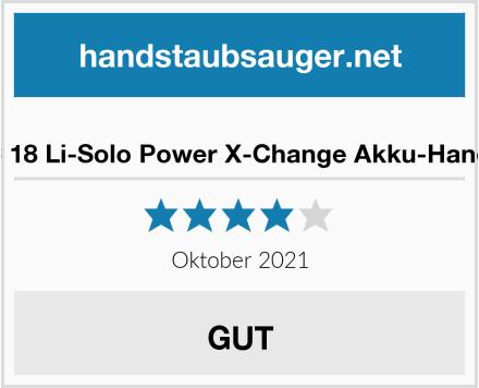 Einhell TE-VC 18 Li-Solo Power X-Change Akku-Handstaubsauger Test