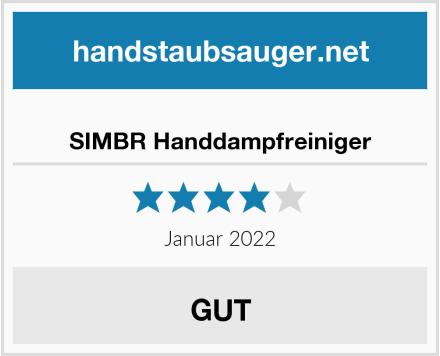 SIMBR Handdampfreiniger Test