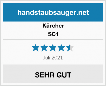 Kärcher SC1 Test