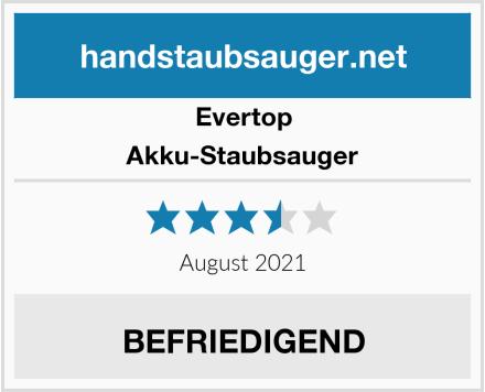 Evertop Akku-Staubsauger Test