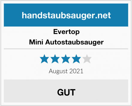 Evertop Mini Autostaubsauger Test
