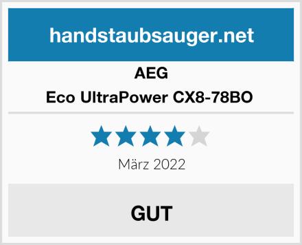 AEG Eco UltraPower CX8-78BO  Test