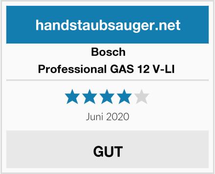 Bosch Professional GAS 12 V-LI  Test