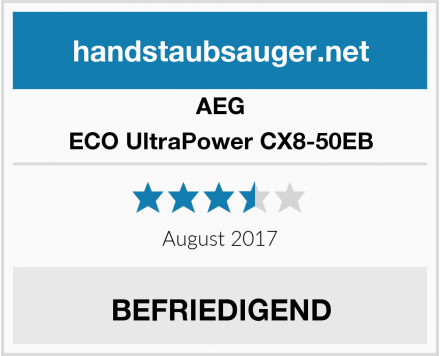 AEG ECO UltraPower CX8-50EB Test
