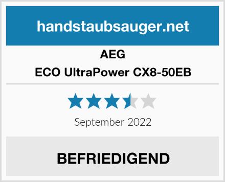 AEG ECO UltraPower CX8-50EB Test