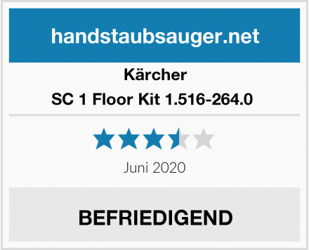Kärcher SC 1 Floor Kit 1.516-264.0  Test