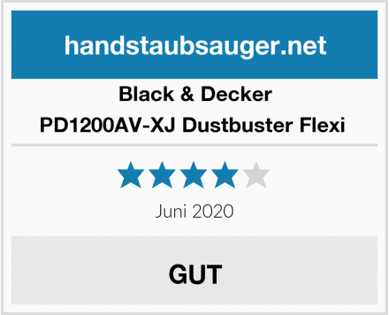 Black & Decker PD1200AV-XJ Dustbuster Flexi  Test