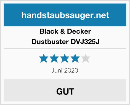 Black & Decker Dustbuster DVJ325J Test