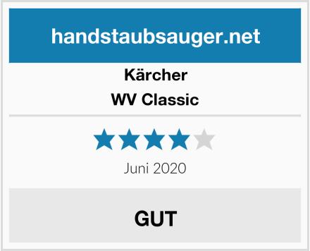 Kärcher WV Classic Test