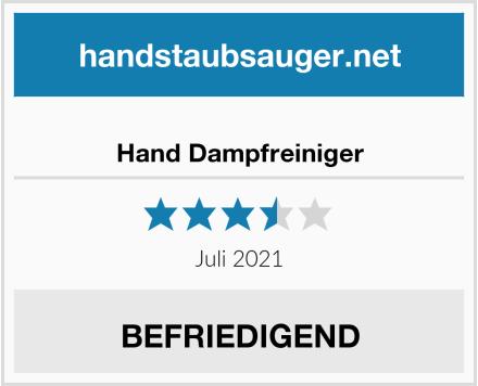 Hand Dampfreiniger Test